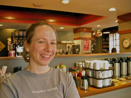 Always a smiling face at the Prairie Cafe & Bakery