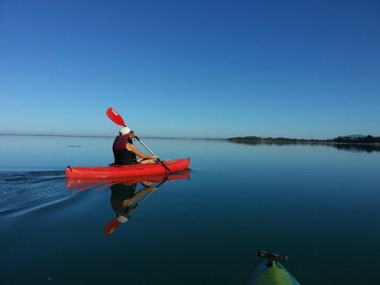 Greenhouse Inn by the Bay: Kayaking minutes from the GreenHouse Inn.