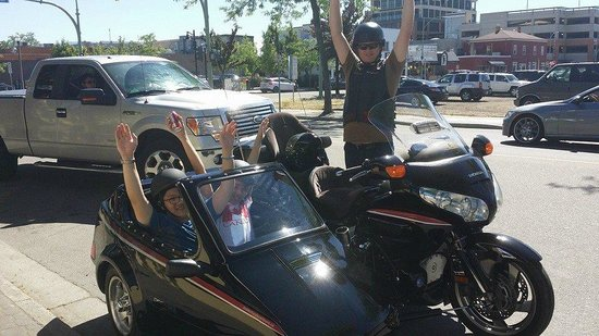 Are two students from China - Picture of Custom Sidecar Tours