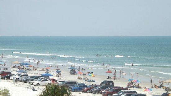 Best Western New Smyrna Beach Hotel & Suites: View from our hotel balcony 4th floor