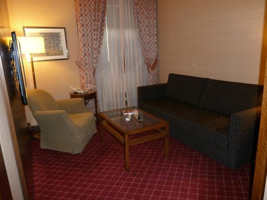 Accademia Hotel: sitting room