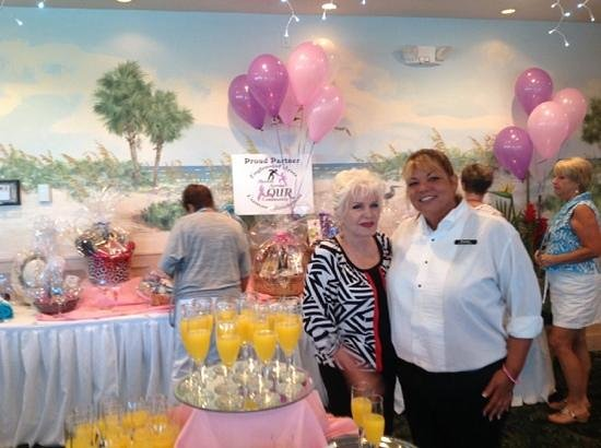 Gulf View Grill: a fabulous brunch for the EACF.