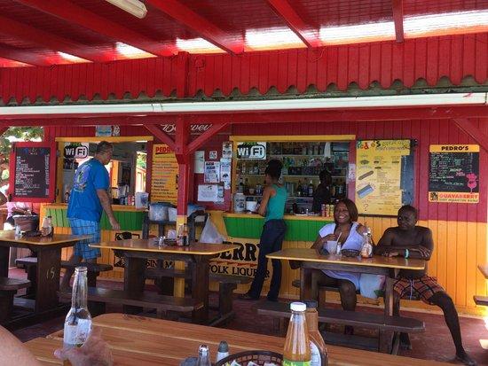 Pedros Beach Bar Restaurant Inside