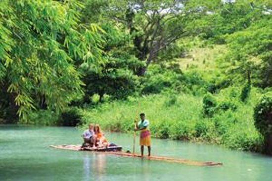 Jamaica: Rafting on The Martha Brae River