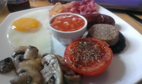 Brooklands Lodge: great breakfast