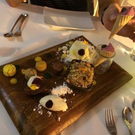 Tides Waterfront Dining: Delectable desert
