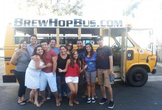Brew Hop Bus