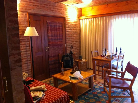 Il Belvedere: Parte da sala de estar