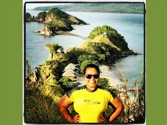Sambawan Island : at the top..overlooking the island