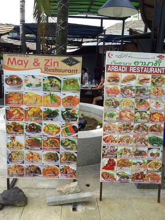 Holiday Inn Resort Krabi Ao Nang Beach: Halal food beside, for those who needs