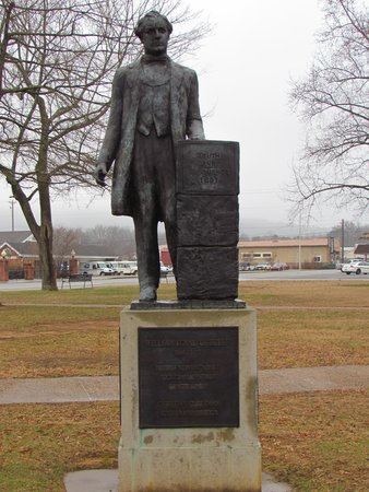 Rhea County Courthouse: Statue of William Jennings Bryan