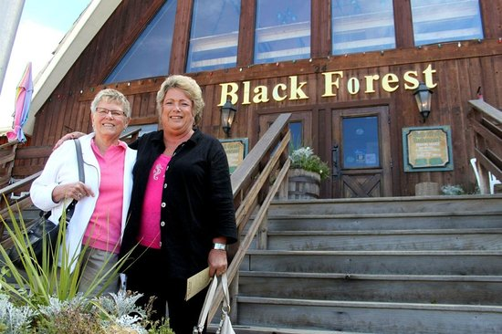 Black Forest Restaurant: The stairs could be a challenge for some diners.