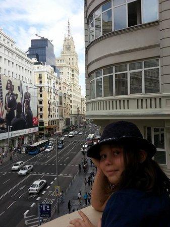 Regente Hotel : Balkon I