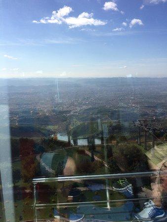 Dajti Tower Belvedere Hotel: Udsigten