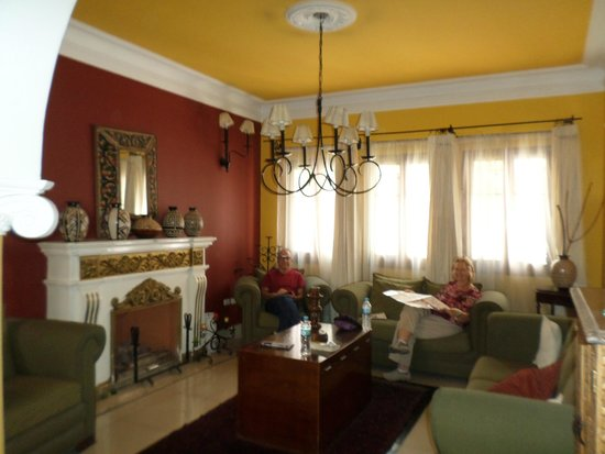 Casa Arequipa: Relaxing atmosphere with internet access
