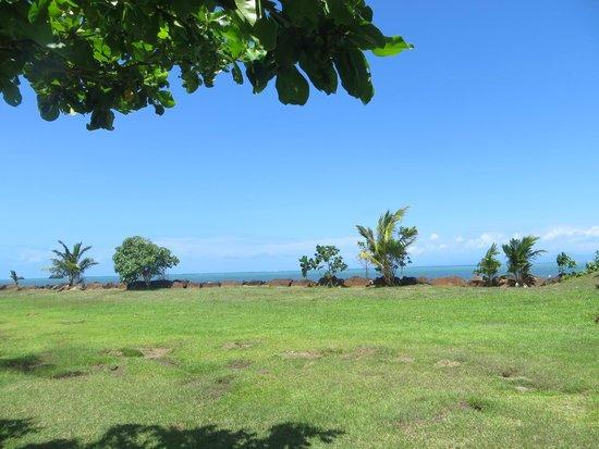 The Savaiian Hotel: view to the sea
