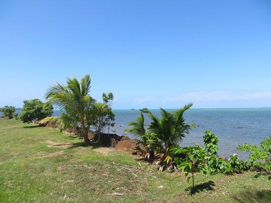 The Savaiian Hotel: view to the sea 2
