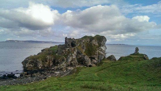 Kinbane Castle: Kinbane