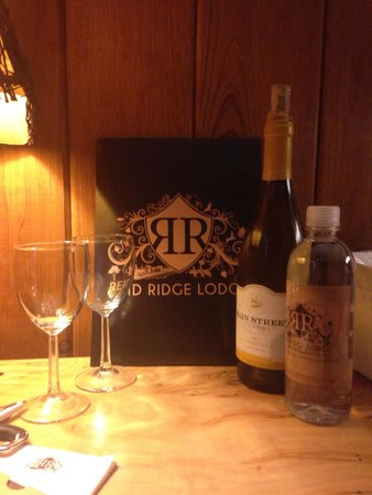 My romantic weekend with my husband made possible by Reid Ridge Lodge