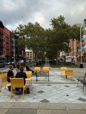 Lower East Side: park