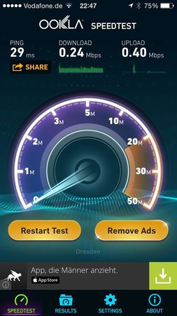"""Steigenberger Hotel de Saxe: """"Free"""" WiFi"""