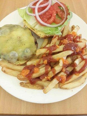 Adam's Bagels : Burger