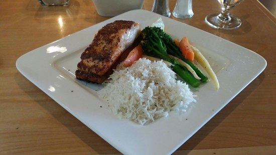 Five Eleven West: Salmon plank