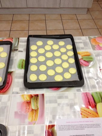 L'atelier Sucre : Macarons citron !!