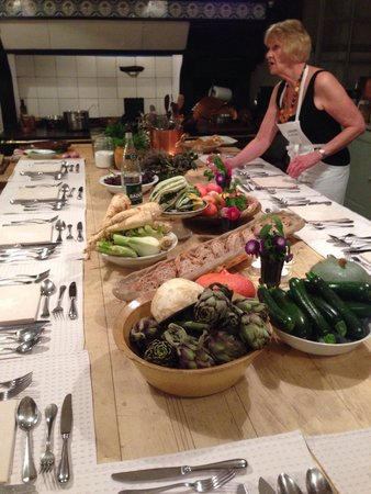 La Mirande Hotel: Chefs table and cooking class