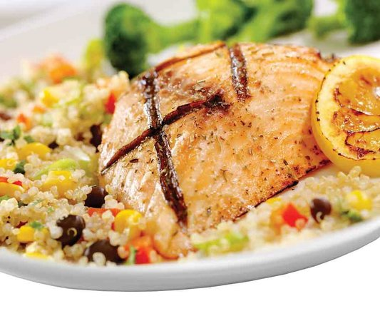 Joey's Seafood Restaurants - Spruce Grove: Lemon-Herb Salmon