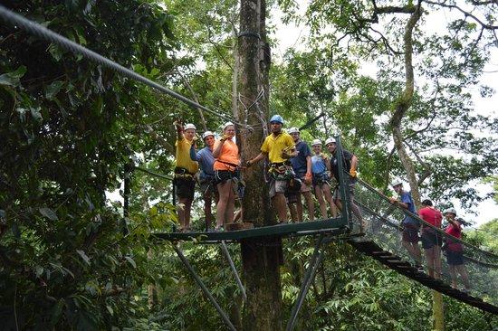 El Santuario Canopy Adventure Tour great day of zip lining in Costa Rica! & great day of zip lining in Costa Rica! - Picture of El Santuario ...