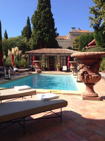 Villa Gallici: Lovely pool area
