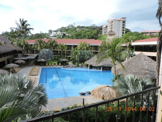 Flamingo Beach Resort And Spa : Hermosa pool view