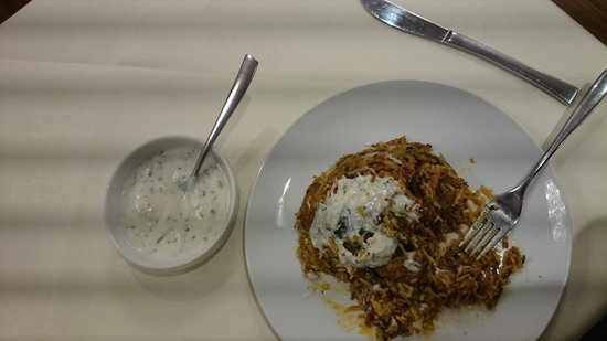 Best Western Airlink Hotel London Heathrow : The greasy khichdi biryani that beat my otherwise strong digestive system!