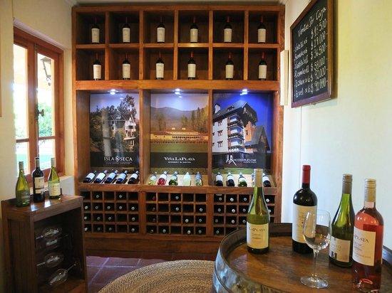 Hotel Vina la Playa: Wine selection