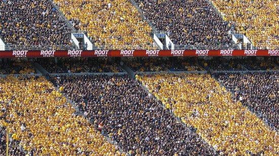 Mountaineer Field: first big 12 game
