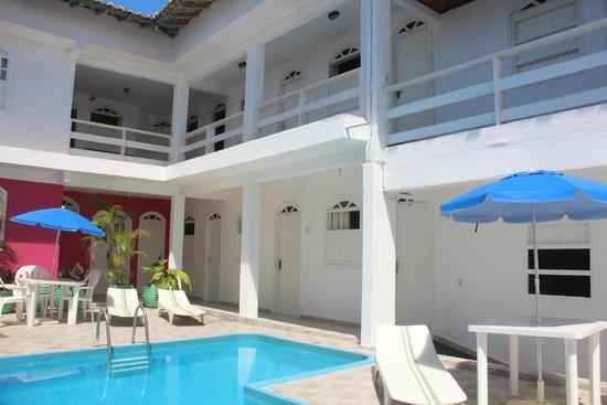 Hotel Da Praia: Curtindo um sol