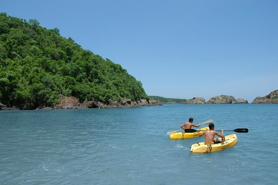 Careyes, Mexico: Ocean Kayaking ~ Playa Caleta
