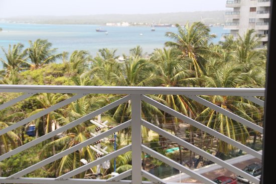 Sol Caribe Sea Flower Hotel: vista da varanda do hotel