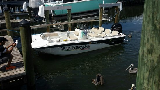 One Love Charters: The 21' boat!