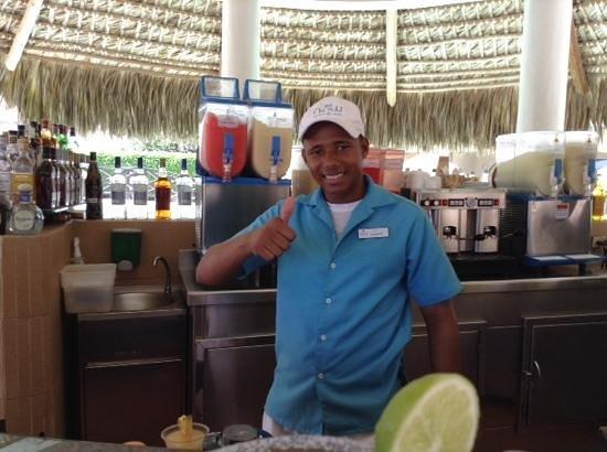 Now Larimar Punta Cana: Junior P. Best bartender!!!