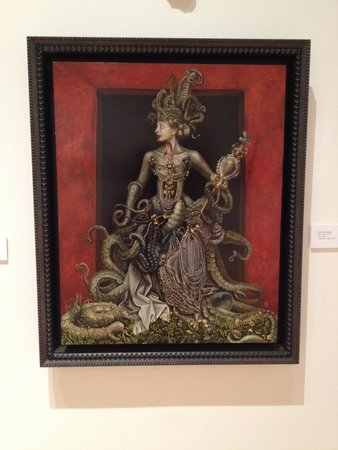 Harwood Museum of Art: One of the more popular paintings
