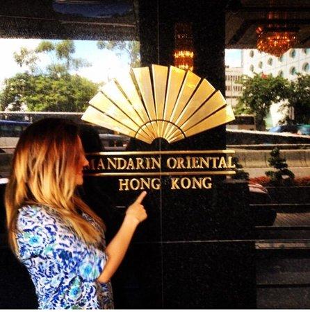 Mandarin Oriental, Hong Kong: Me encano !!!