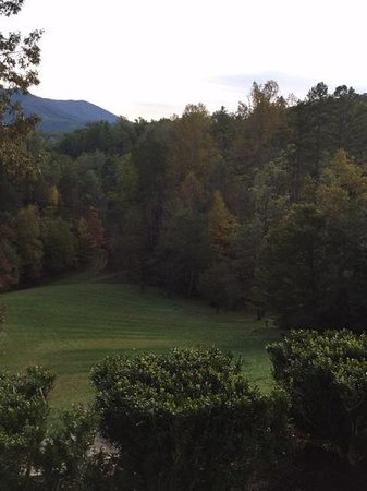 Buckhorn Inn: The View from the patio