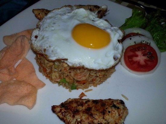 Deco on 44: Nasi goreng is the best in the world.