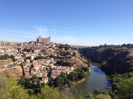 La Posada de Manolo: A view from the little red tourist bus.