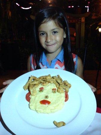 La Terraza Peruana : Funny kids plate