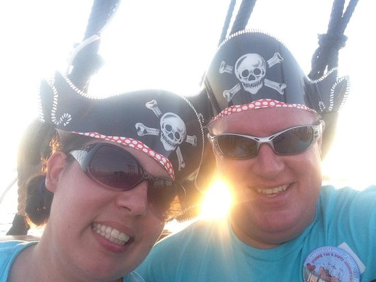 Captain Memo's Pirate Cruise: The old pirates had some fun too...