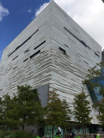 Perot Museum of Nature and Science: Outside