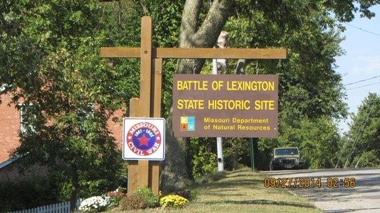 Battle of Lexington State Historic Site: Battle of Lexington Historic Site